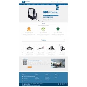 响应式外贸灯具公司网站织梦模板(自适应手机端)