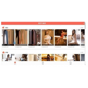 Z-BlogPHP仿918回忆模特写真网整站源码
